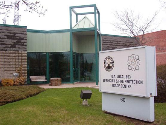 UA Local 853 building