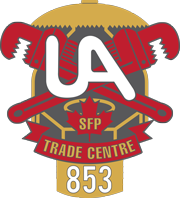 UA Local 853 logo