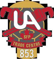 UA Local 853 logo